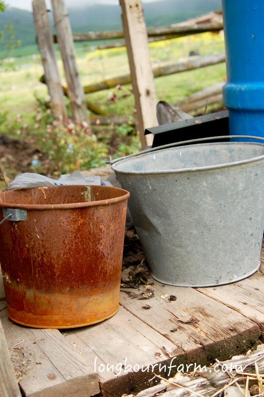 Old pails